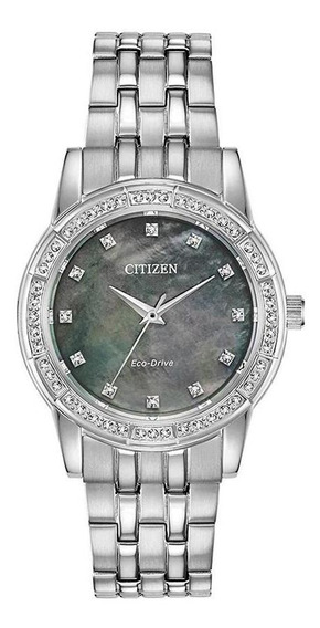 Relógio Citizen Eco-drive Silhouette Crystal Em0770-52y