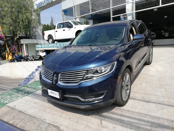 Lincoln Mkx V6 Reserve Piel Qc Nav 4x4 At 2017