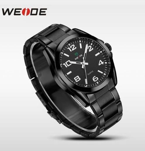 Relógio De Pulso Weide Wh-801 Preto Importado