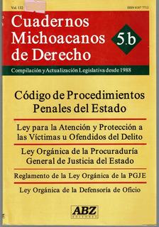 Cuadernos Michoacanos De Derecho Compilacion Y Actualizacion