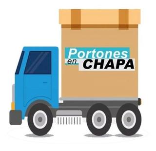 Envío De Abertura En Caba Y Gba. Portones En Chapa