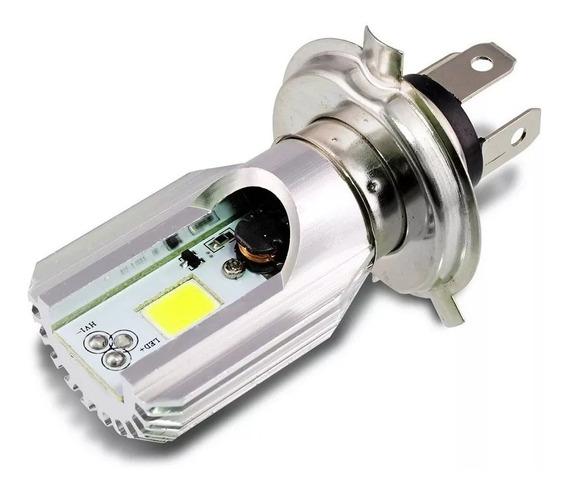 Lampada Farol Led H4 Moto Cbx 250 Twister