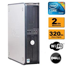 Cpu Dell Optiplex 380 Core 2 Duo 2gb Hd 320gb C/ Wifi
