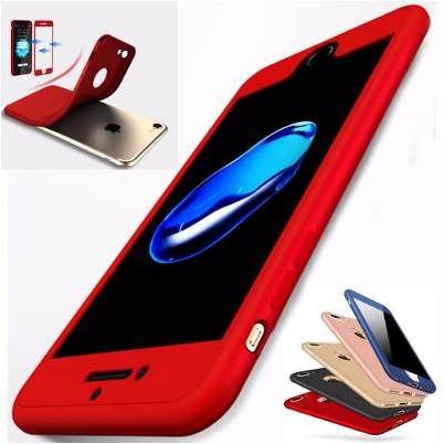 56091becf5a Funda Full Cover Tpu 360 Suave iPhone 6 6s Plus 7 Y 7 Plus - $ 200.00 en Mercado  Libre