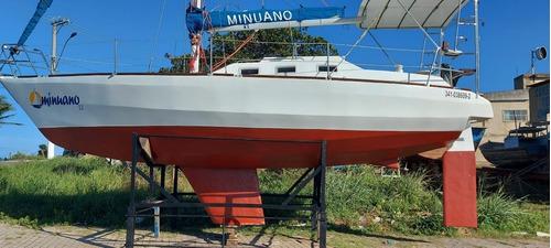 Imagem 1 de 14 de Veleiro Minuano Multichine 28 Pés Totalmente Reformado 2021