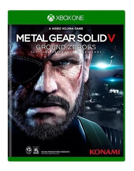 Jogo Xbox One Metal Gear Solid V Original Novo Mídia Física