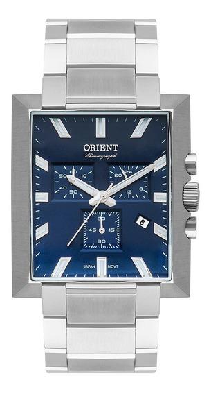 Relógio Orient Unique Masculino Cronógrafo Gbssc011 Prata