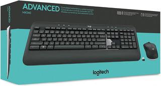 Teclado Y Mouse Inalambrico Logitech Mk540 Tv Smart Español