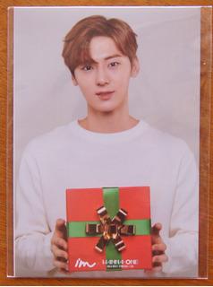 Cartão Postal Minhyun Wanna One Kpop K-pop