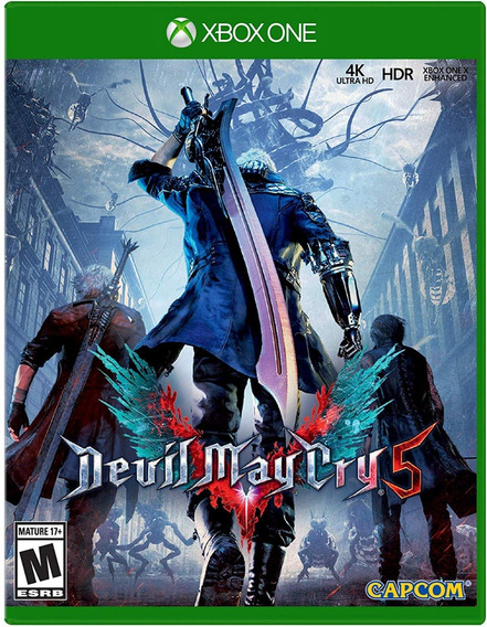 Devil May Cry 5 - Xbox One - Midia Fisica!