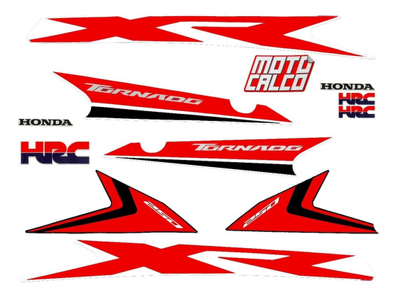 Kit Calcos Honda Tornado 250 Graficas Alta Calidad Fas Motos