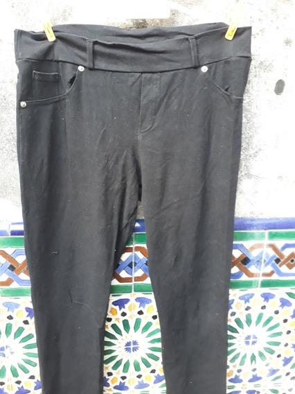 Calza Simulando Pantalón Talle 5 Color Negra