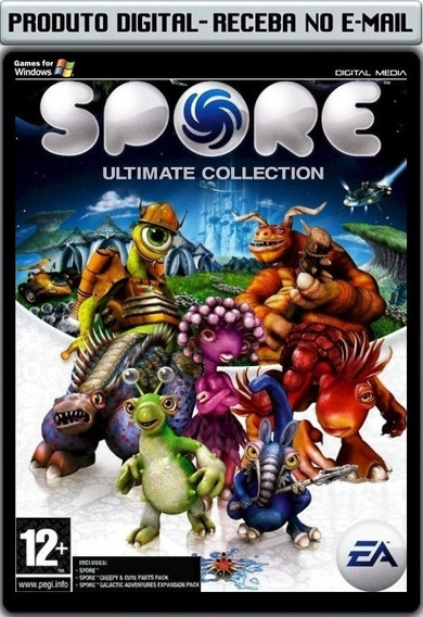 Spore Ultimate Collection - Pc - Envio Digital