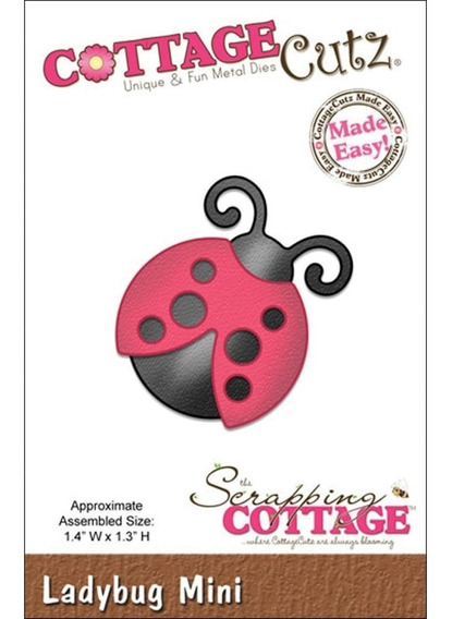 Troqueladora Ladybug Cottage Cutz