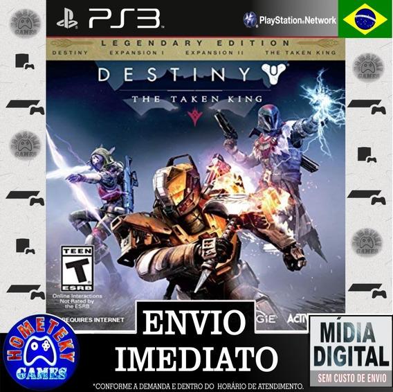 Destiny The Taken King - Edição Lendária Psn Ps3 Pt Br