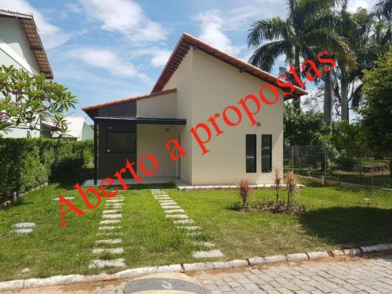 Casa Nova Condomínio São José Imbassaí 3 Quartos Suite Lazer - 598