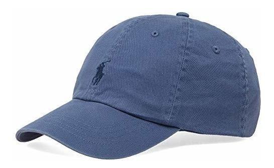 Polo Ralph Lauren Cachucha Para Hombre Gorra Ajustable Azul