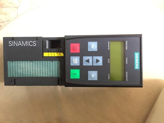 Unidade Controle 6sl3246-0ba22-1fa0 Siemens G120 C/ Bop2