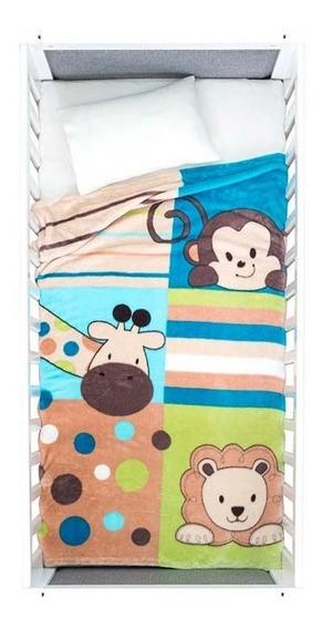 Cobertor Para Bebé Ligero Animales Viaje Amigos Vianney