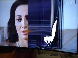 Tv Led Samsung 55 Curvo Un55ku6300g Roto
