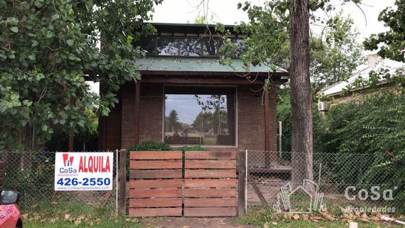 Casa En Alquiler 2 Dormitorios - Rosario - Ibarlucea