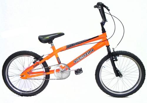 Imagen 1 de 6 de Bicicleta Rodado 20 Cross Keirin Ruedas Reforzadas La Mejor!
