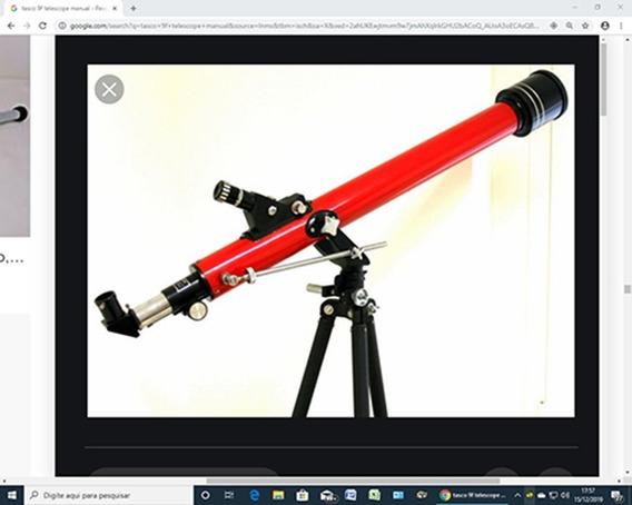 Telescópio Refrator Tasco 9f