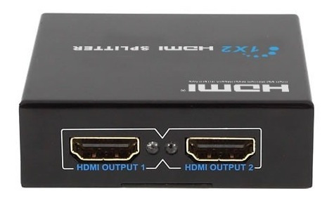 Hdmi Splitter 1x2 Puertos Amplificador De Video 1080p Hd Tv