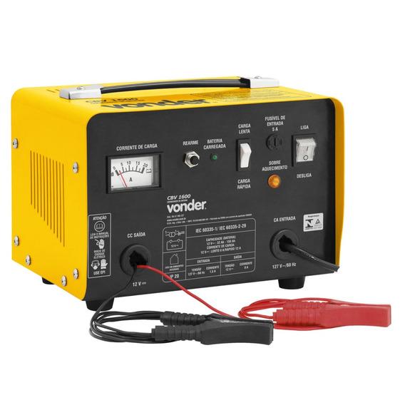 Carregador De Bateria Cbv1600 1600w Vonder 127v Hf