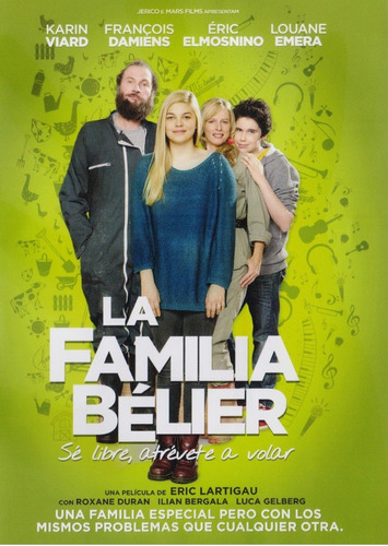 La Familia Belier Karin Viard Pelicula Dvd