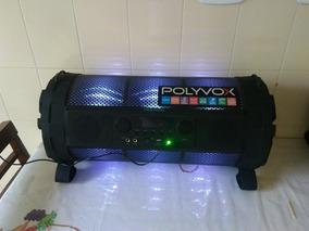 Caixa De Som Polivox Bazuca Xb 850 Usada !!! Atenção !!!