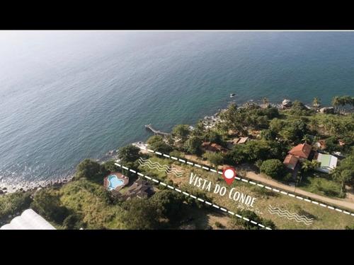 Imagem 1 de 11 de Terrenos Planos Ilhabela Vista/acesso Mar 600m2 - Curral
