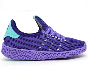 Tênis Feminino adidas Pharrell Williams Lilás