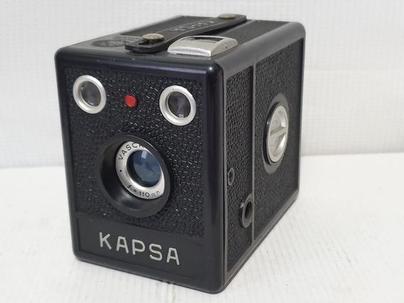 Câmera Fotográfica Kapsa Pinta Vermelha