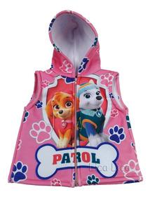 Colete Patrulha Canina Infantil Blusa Menina Syke Paw Patrol