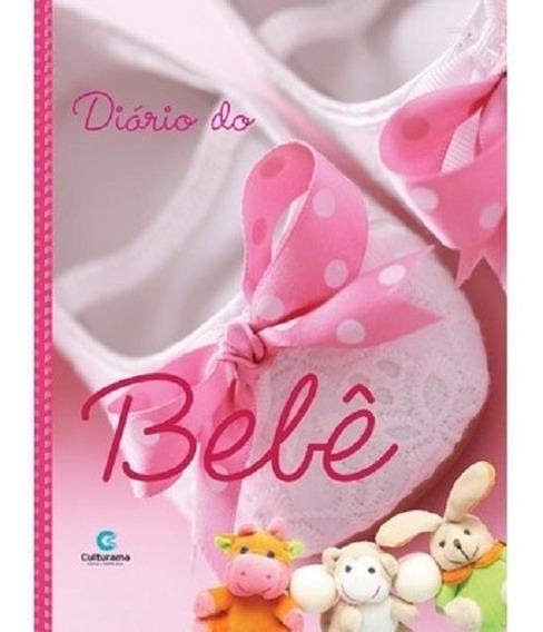 Livro Diário Do Bebê Álbum Acompanhamento Gestação Menina