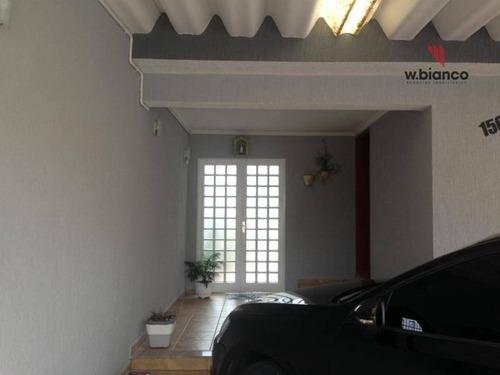 Excelente Casa Térrea, Em Rudge Ramos Com 03 Dormitórios /02 Suites, - Ca0239