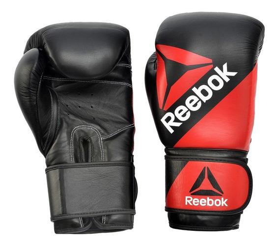 Guantes De Boxeo P/ Entrenamiento 10oz Bolsas Vendas Reebok