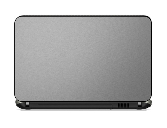 Adesivo Skin Notebook Aco Escovado Fibra Carbono Dell Hp