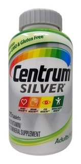 Centrum Adults 50+ Silver 325 Cápsulas Importado