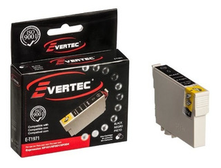 Cartucho De Tinta Evertec Compatible Con Epson T197 Negro