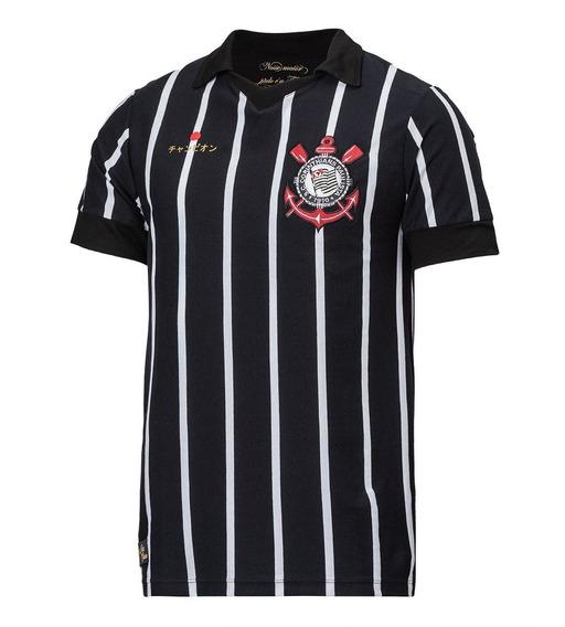 Camisa Retrô Corinthians Mundial 2012 Oficial