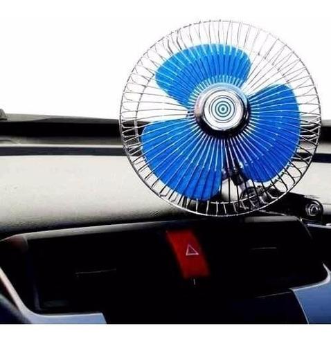 Ventilador Carro Vehiculo 12v Oscilante Portátil Caiman Coch