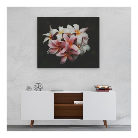 Cuadros Modernos Decorativos 120x50 Cm Con Bastidor Flores