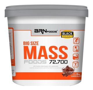 Hipercalorico Size Mass 6kg Brn Foods - 12x S/ Juros