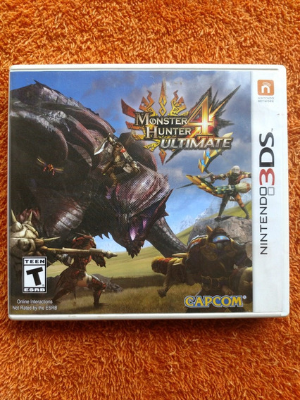 Monster Hunter 4 Ultimate Nintendo 3ds Frete R$13