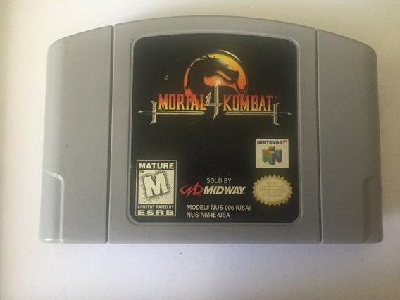 Jogo Mortal Kombat 4 Nintendo 64