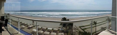 Cad Ocean Front 401. Departamento De Playa Para 8 Personas. Terraza Y Vista Al Mar