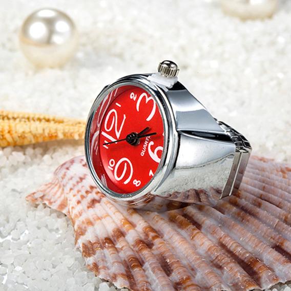 Personalizado Hombres Mujeres Pareja Anillos Reloj Mini Moda