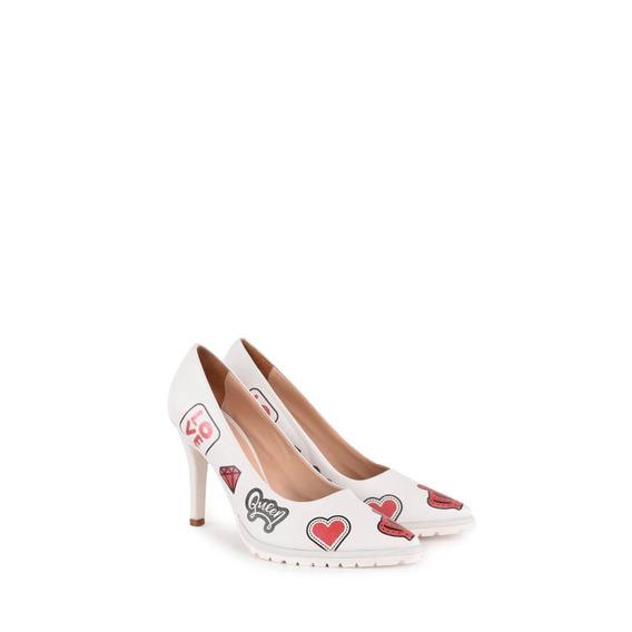 Zapatos Stilettos Vestir De Mujer De Cuero Emojis - Ferraro